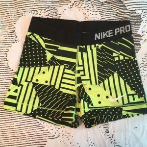 Nike Pro training Compression shorts